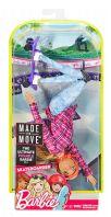 Barbie Bambola Snodata Sport Skateboard