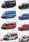 Bburago Modellino Automezzi Emergency Force 1:43