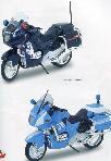 Bburago Modellino Moto Polizia/carabinieri 1:18