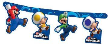 Super Mario Bros Festone Party
