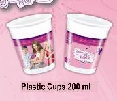 Violetta Bicchieri Di Plastica