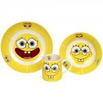 Spongebob Set Colazione Ceramica