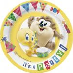 Looney Tunes Pack 10 Piatti di Carta Party (1)