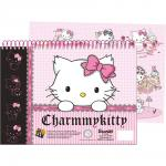Charmmy Kitty Quaderno A4 Con Stickers