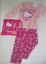 Hello Kitty pigiama lungo rosa + sacco T12