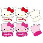 Hello Kitty Guanti Polari Peluche T4/6