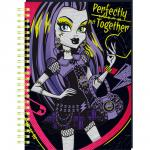 Monster High Quaderno A5 Decorata a Spirale