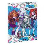 Monster High Carpetta A4 12 Scompartimenti Be Yourself