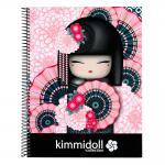 Kimmidoll Quaderno A4 120 Fogli Kanako