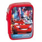 Cars Astuccio Triplo Disney Neon