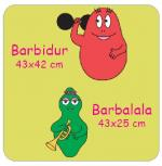 Barbapapà Wall Stickers Barbaforte e Barbalalla