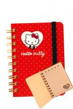 Hello kitty Quaderno Spirale Piccola Heart Kitty