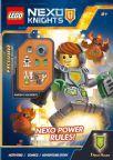 Lego - Nexo Knights - Viva I Poteri Nexo (Libro+Minifigure E Mattoncini)