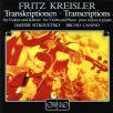 Kreisler, F. - Transkriptionen Fuer Viol